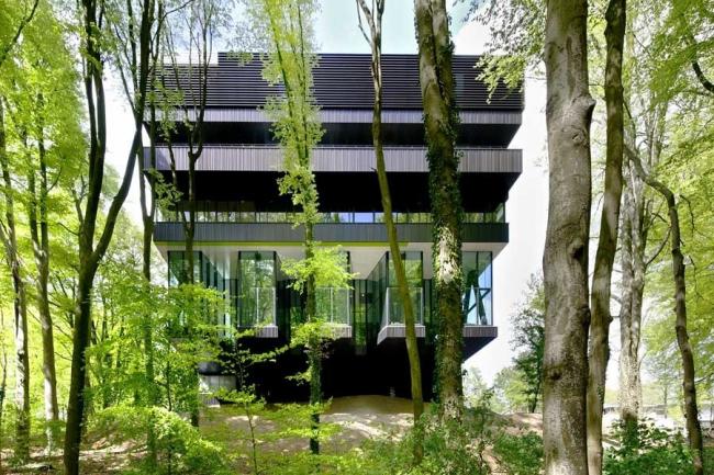Реабилитационный центр Groot Klimmendaal в Арнеме бюро Architectenbureau Koen van Velsen. Фото © Robt Hart Fotografie