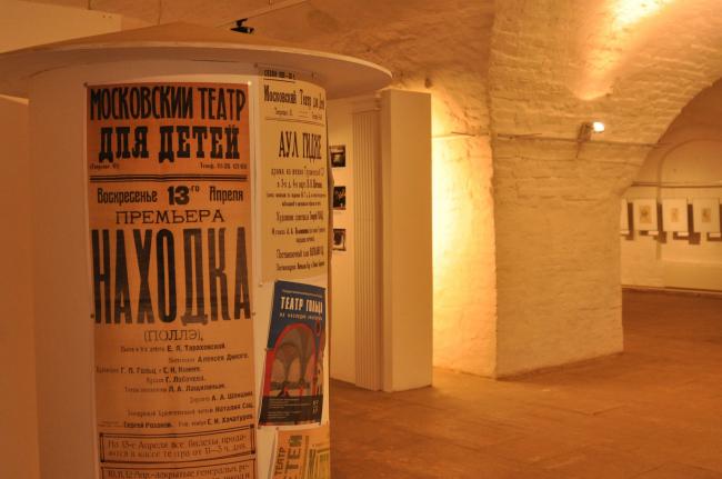 Выставка «Театр Гольца: из наследия архитектора» в Аптекарском приказе Музея архитектуры. Фото: Илья Печенкин