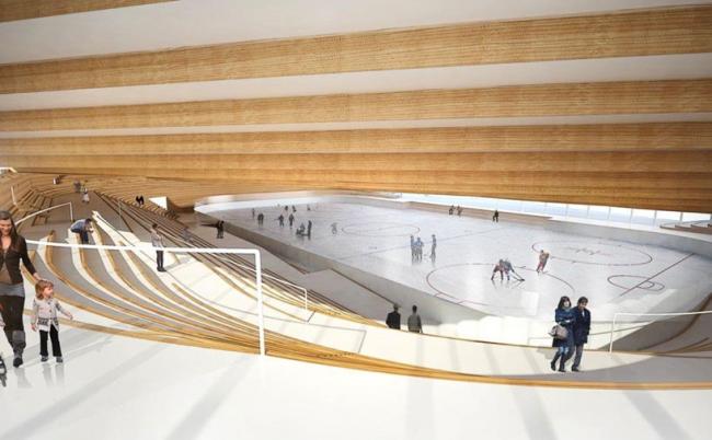 Хоккейный клуб в Умео © BIG