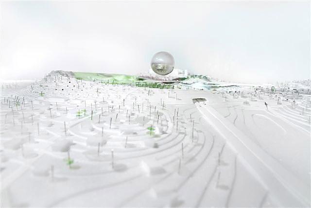 Генплан комплекса «Стокгольмспортен» © BIG