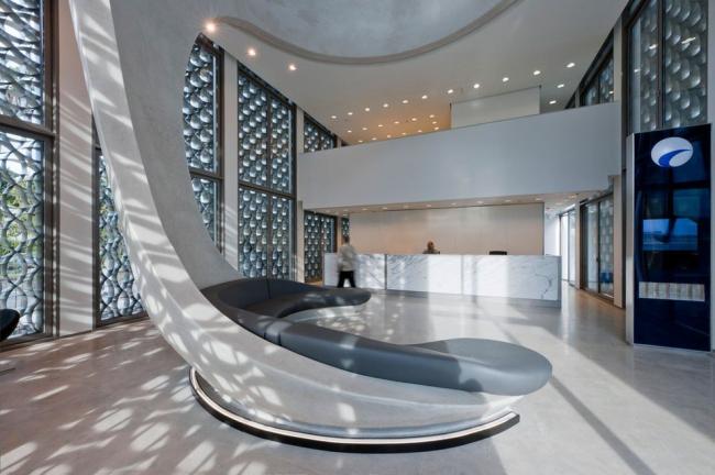Штаб-квартира банка BMCE. Подкупольное пространство © Nigel Young / Foster + Partners
