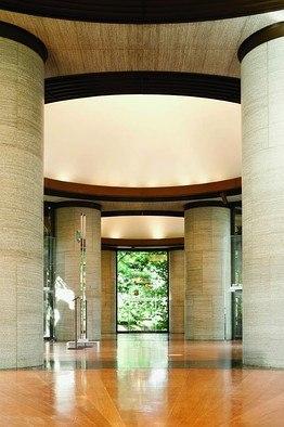 Филип Джонсон. Павильон искусства доколумбовой Америки в Дамбартон-Оукс. Фото © Andrew Rowat