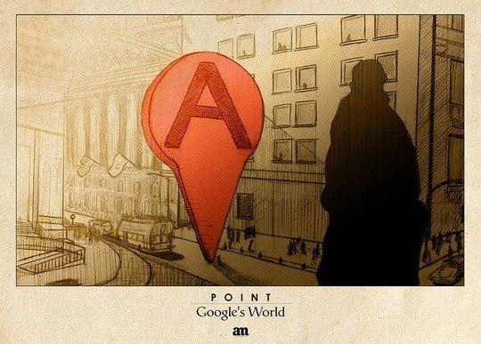 Алехо Малья. Лист из серии «Мир Гугла». Изображение с сайта unplggd.com