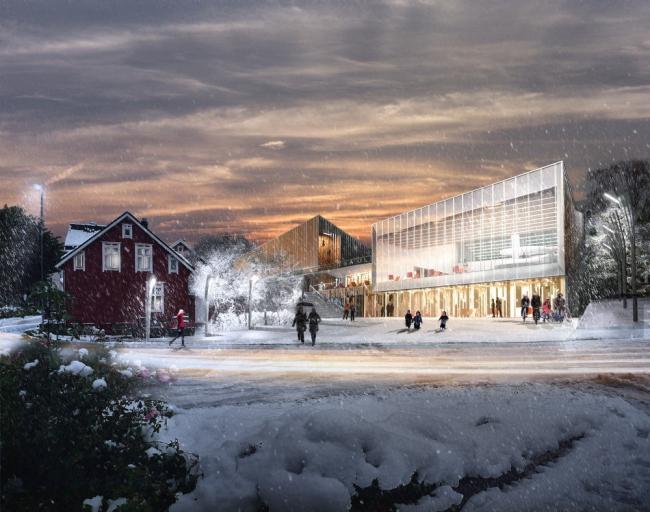 Стадион Arena Ulstein © Lund+Slaatto & Nils Tveit