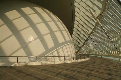 «Хемисферик» изнутри. Фото: Николай Малинин