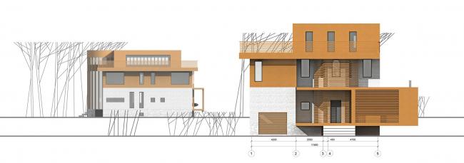Реконструкция жилого дома в Подмосковье © ПТАМ Виссарионова