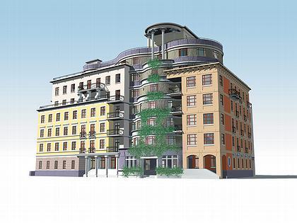 Многофункциональный комплекс «Сад-Лабиринт». 2000-2004