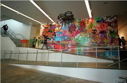 Музей искусств Бронкса. Интерьер вестибюля