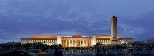 Национальный музей КНР. Проект © gmp