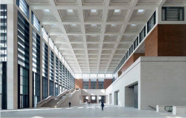 Национальный музей Китая. Западный вестибюль – «форум» © Christian Gahl. Предоставлено gmp