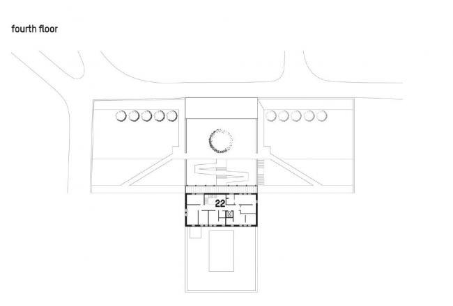 Посольство Великобритании в Грузии. 5-й этаж © Wilford Schupp Architekten