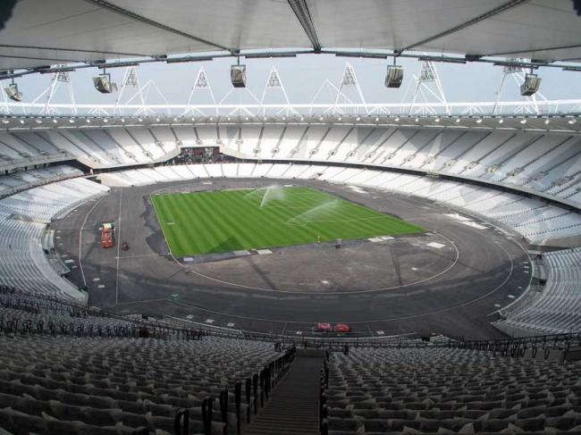 Олимпийский стадион 2012 © ODA