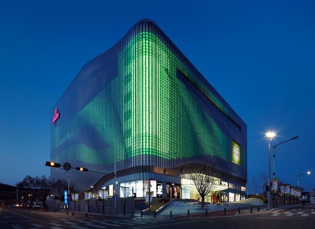 Торговый центр Galleria Centercity в Чхонане. © Kim Yong-Kwan