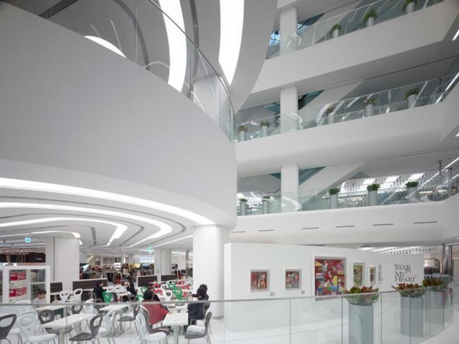 Торговый центр Galleria Centercity в Чхонане. © Сhristian Richters