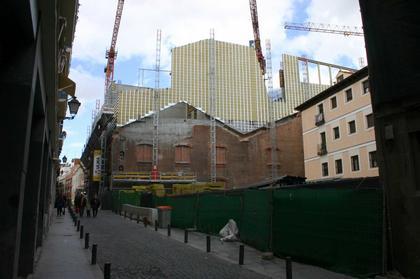 Мадрид. Жак Херцог и Пьер де Мерон строят «Кайкса-Форум». Фото: Николай Малинин
