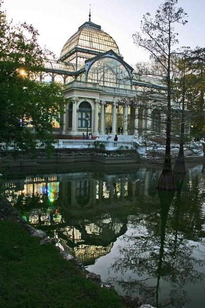 Мадрид. Хрустальный дворец в саду Ретиро. Фото: Николай Малинин