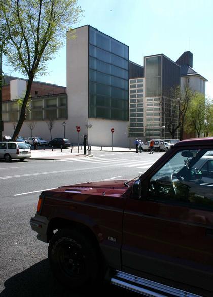 Mansilla + Tunon. Архив-библиотека города Мадрида. Фото: Николай Малинин