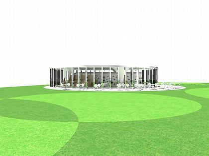 Павильон Прайори-Парка. Проект