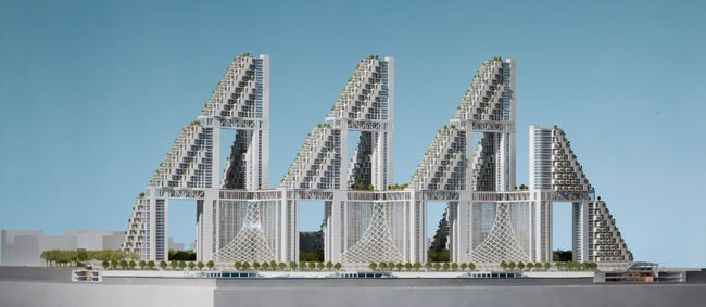 Жилой комплекс Golden Dream Bay © Safdie Architects