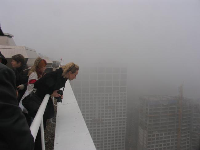 На крыше