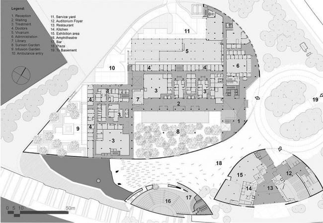 «Центр исследования неизвестного» Фонда Champalimaud © Charles Correa Associates