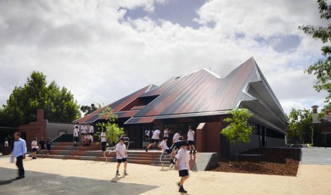Средняя школа Пенлей и Эссендон. ©McBride Charles Ryan