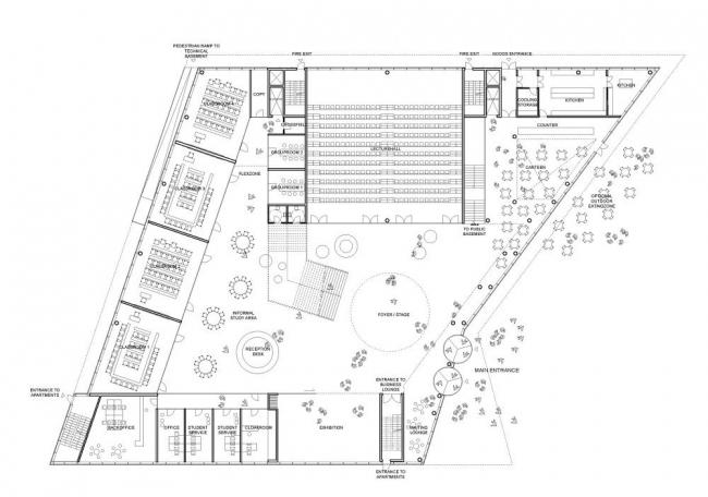 Китайско-датский Центр Образования и Исследования  © Henning Larsen Architects