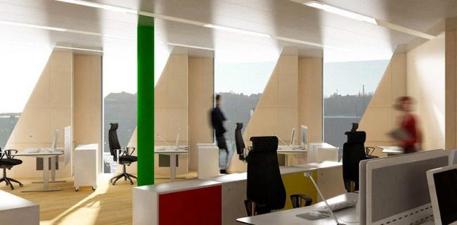 Офисное здание Kuggen ©Wingardh Arkitektkontor