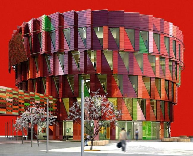 Офисное здание Kuggen. Проект © Wingardh Arkitektkontor