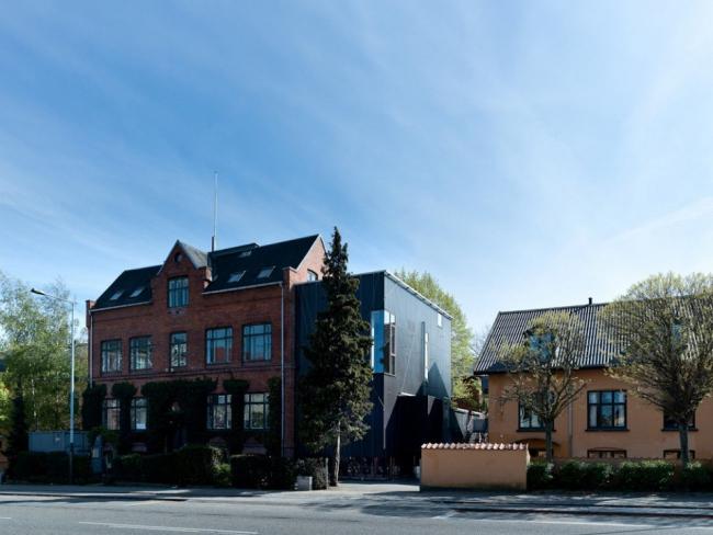 Новое крыло Школы Бернадотта. © Tegnestuen Vandkunsten