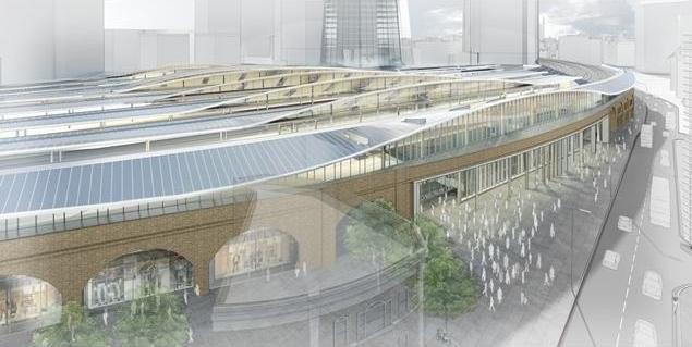 Реконструкция вокзала «Лондон Бридж». © Grimshaw Architects