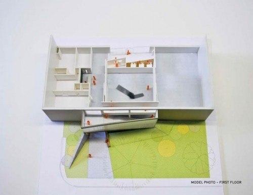 Реконструкция Музея изобразительных искусств Блаффер. © WORKac