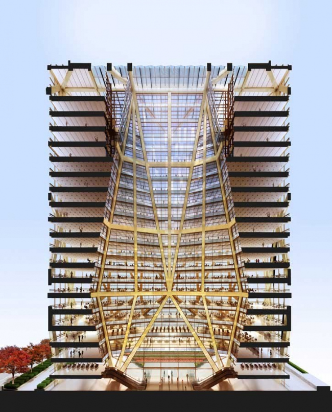 Здание CITIC Bank © Foster + Partners