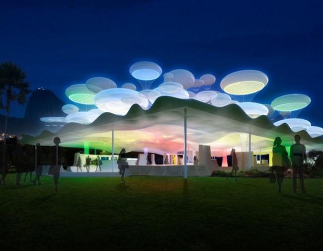 Павильон Mobilizarte © Grimshaw Architects