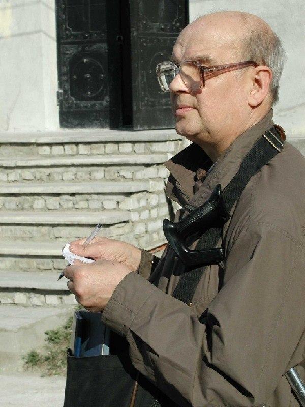 Владимир Иванович Плужников, историк архитектуры, кандидат искусствоведения, лауреат премии имени А.И. Комеча 2011 года. Фотография предоставлена организаторами.