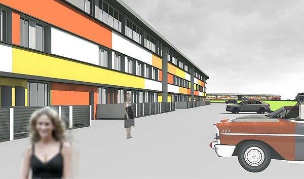 Проект жилой малоэтажной застройки близ села Ульянково