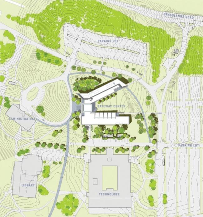 Корпус Гейтвей для обучения английскому языку как иностранному колледжа Уэстчестера © Ennead Architects