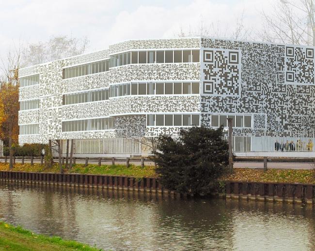Колл-центр компании Teletech © MVRDV
