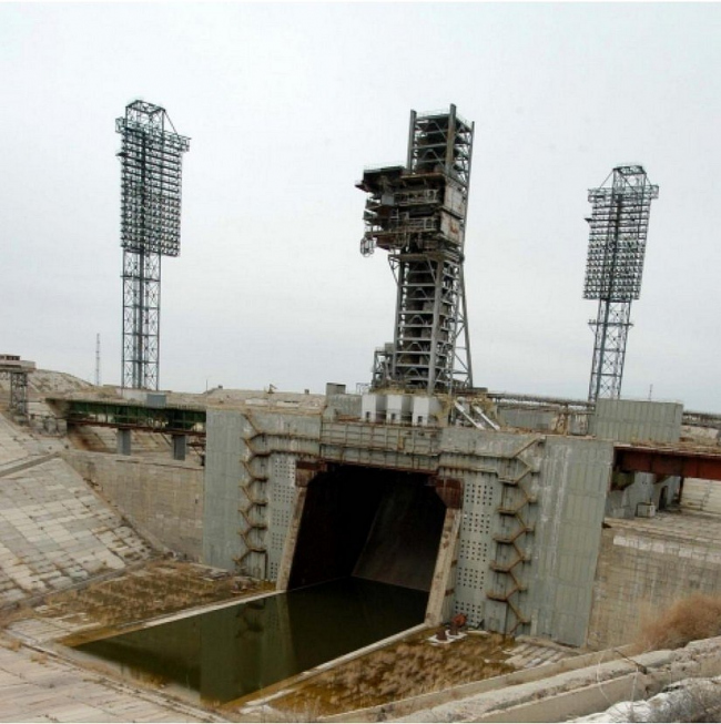 Универсальный комплекс Стенд-Старт на космодроме Байконур © ОАО «ИПРОМАШПРОМ»
