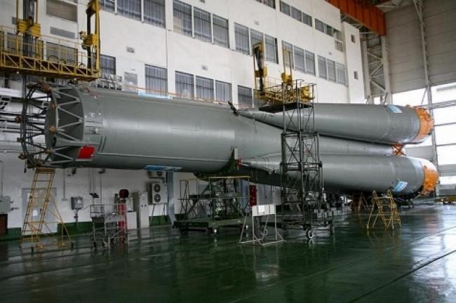 Монтажно-испытательный корпус на космодроме Байконур © ОАО «ИПРОМАШПРОМ»