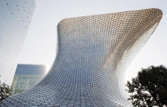 Музей «Сумайя» в Мехико. Фото © Adam Wiseman. Предоставлено FREE Fernando Romero