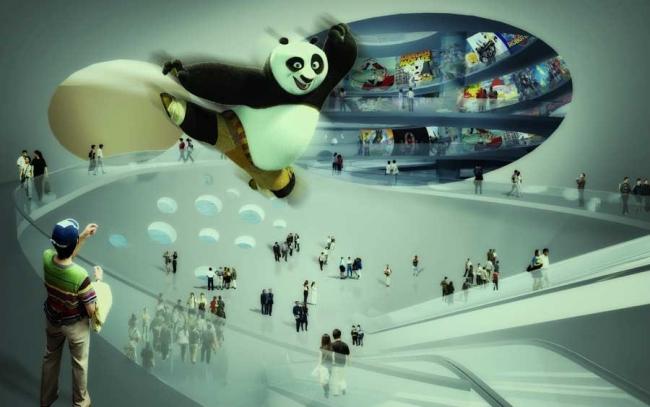 Китайский музей комиксов и мультипликации © MVRDV
