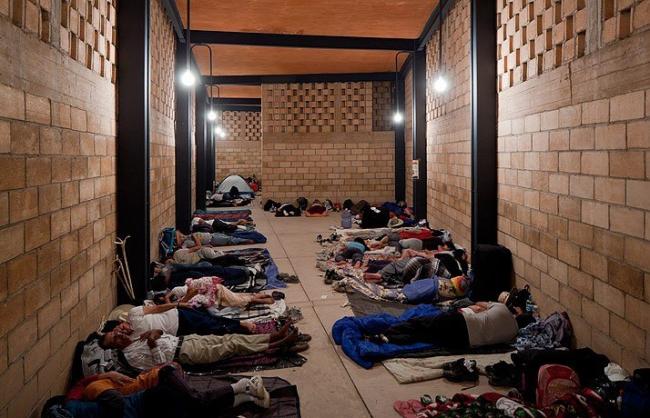 Убежище от непогоды Луиса Альдрете в Атенгильо. Фото © Iwan Baan