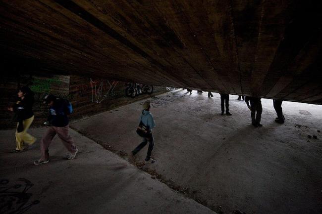 «Путь паломника». Обзорная площадка в Лас Крусес. Архитекторы Elemental. Фото © Iwan Baan