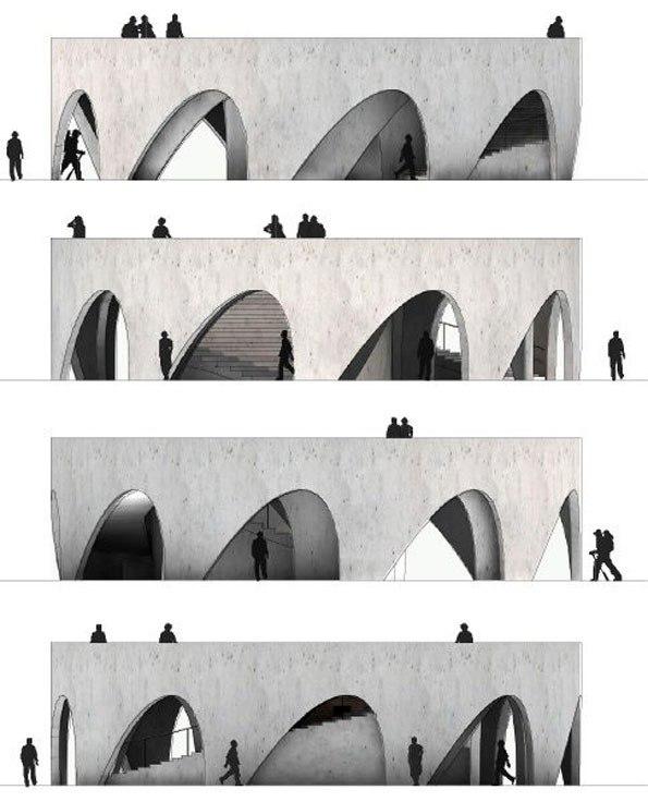 Обзорная площадка Эспинасо де Дьябло в горах Халиско. HHF architects