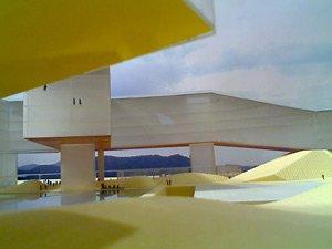 Центр Ванке. Фото макета