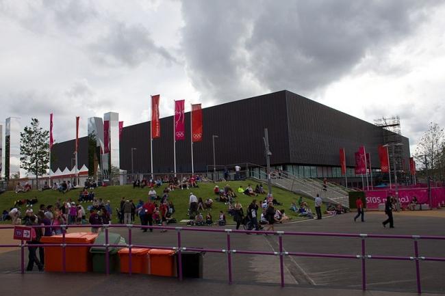 Олимпийский гандбольный стадион. Фото: Ian Patterson via Wikimedia Commons. Лицензия CC-BY-2.0
