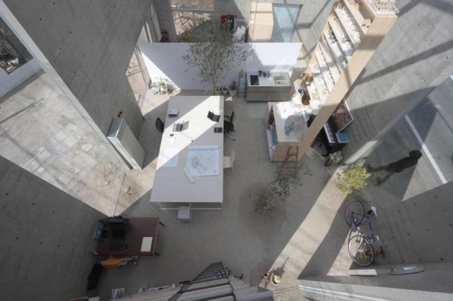 Офис Tenjinyama Atelier. Архитектор Такаси Фудзино. Фото с сайта domusweb.it