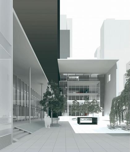 Современное здание для современного искусства