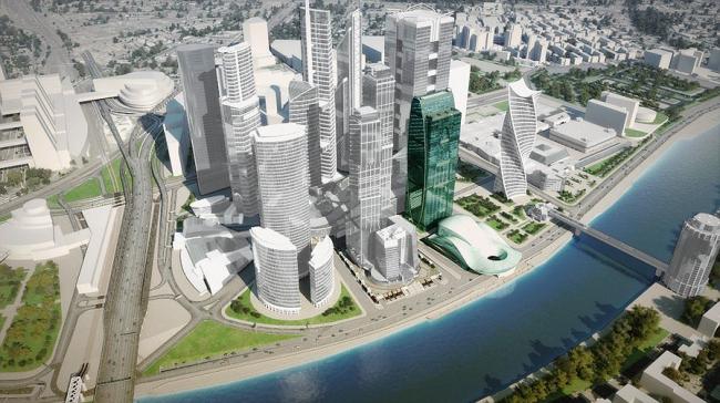 Многофункциональный комплекс «Империя-Тауэр». 3D-модель: imperiatower.ru